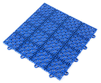 Interlocking floor mats(drainage surface) - PPGS-202