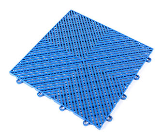 Interlocking floor mats(drainage surface) - PPGS-204