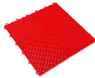 Interlocking floor mats(drainage surface) - PPGS-501