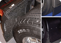 High efficiency mud flaps - new product arraival