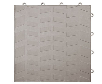 PP Interlocking tiles(solid surface) - PPFG-4