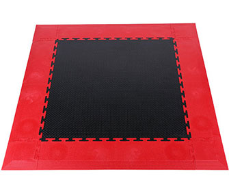 PVC Interlocking tiles(solid surface) - KJFG-704